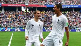 France beat Uruguay 2-0 to reach semi-finals