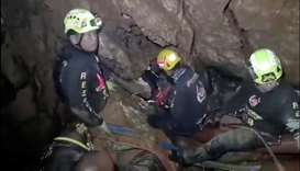 Mammoth medical operation awaits trapped Thai cave boys