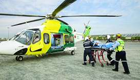 LifeFlight is considered an invaluable part of HMC's Ambulance Service