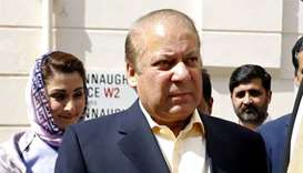 Former Pakistani PM Sharif to return on July 13 to face jail