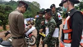 Rescue efforts begin for boys trapped in Thai cave