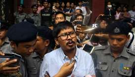 Reuters reporters to face trial for 'breaking' Myanmar law