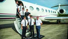 Qatar Executive's Gulfstream breaks world record in pole to pole flight