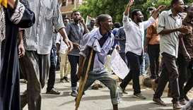 Sudan protesters, generals trade blame for bloodshed at rally