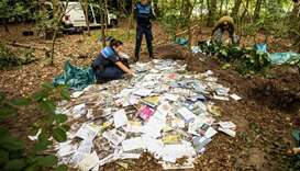 Mystery of Dutch postman's burial of thousands of letters
