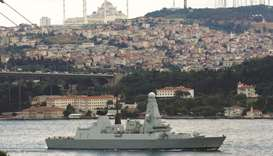 UK sends second warship to Gulf after Iran tanker standoff