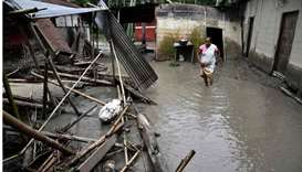 Heavy rain and floods in India's Assam kill 10, displace more than 1mn