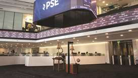 Philippine Stock Exchange in Manila.