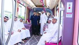 PM witnesses Automatic Rapid Transit System trial run