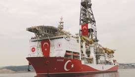 Turkish drilling vessel Yavuz