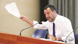 Salvini takes steps to clear out 'illegal' Roma settlements