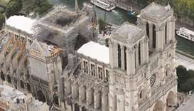 Nearly one billion euros raised, pledged for Notre-Dame rebuild