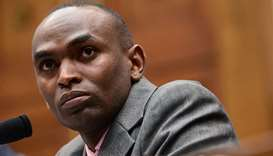 Paul Njoroge, representing the families of Ethiopian Airlines Flight 302, testifies before a House T