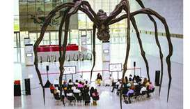 Louise Bourgeois' Spider Sculpture 'Maman'