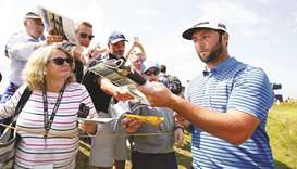Rahm would 'love' to be second Spanish champ at Open, 40 years after Ballesteros triumph