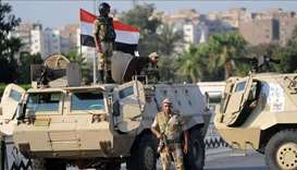 20 militants killed by airstrikes in Egypt's restive Sinai