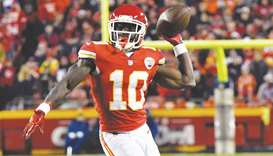 NFL declines to punish Chiefs wide receiver Hill