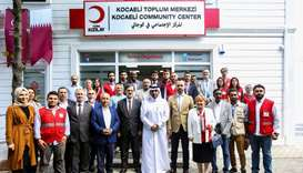 Qatar Charity opens community centre for Syrian refugees in Turkey
