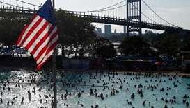 US sizzles as weekend heat wave tightens grip