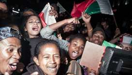 Madagascar president charters plane for Africa Cup fans