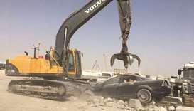 475 abandoned vehicles removed in Al Rayyan