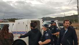 Australia detains French TV crew filming anti-coal protest