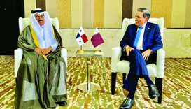Qatar participates in inauguration ceremony of Panama president
