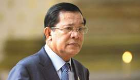 "Cambodian Prime Minister Hun Sen: ""This is the worst-ever made up news against Cambodia."""