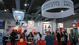 People attend the 10th International AIDS Society (IAS) Conference in Mexico City