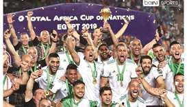 Algeria won the African Cup