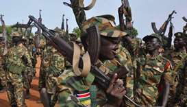 Fighting between S.Sudan rebels, govt near capital
