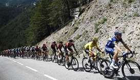 Environmentalists urge Tour de France to end 'avalanche of plastic'