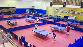 Qatar Table Tennis Training Centre has a busy summer schedule.