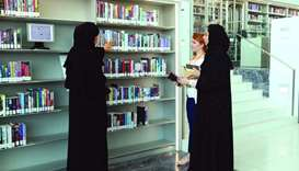 Jooza al-Malki aims to make libraries more engaging places for the visitors.