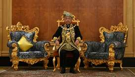 Malaysia installs new king six months after surprise abdication