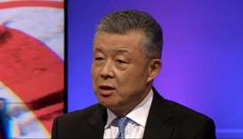 China's UK ambassador Liu Xiaoming