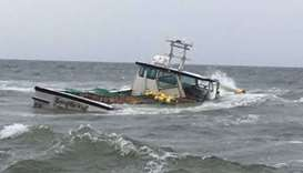 Fishing vessel with dozens on board sinks off Honduras