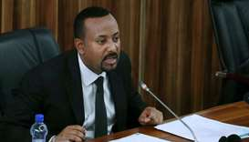 Ethiopia's Prime Minister Abiy Ahmed addresses the legislators on the current situation of the count