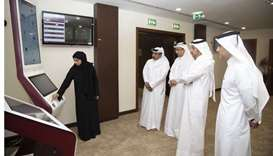 HE the Prime Minister was briefed on the progress in digital transformation in Supreme Judiciary Cou