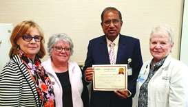 HMC breastfeeding specialist receives international breast health certification