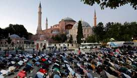 Istanbul's Hagia Sophia declared a mosque after Turkish court ruling