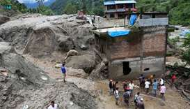 Floods, landslides kill 40 in Nepal, many missing