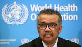 WHO chief Tedros Adhanom Ghebreyesus