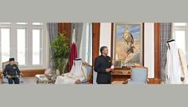 Amir meets ambassadors of Indonesia, India