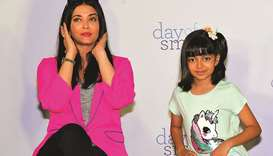 Aishwarya Rai, and daughter