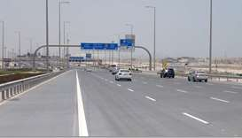 Ashghal completes 95% of expressway works serving Al Thumama Stadium