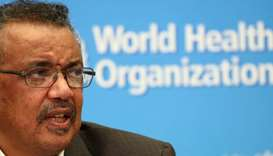 WHO Director General Tedros Adhanom Ghebreyesus