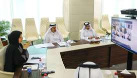 AlKhater briefs envoys on lifting of curbs