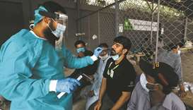 Sharp rise in infection among healthcare staff