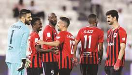With 11 wins, five draws and one defeat against their name, Al Rayyan have 38 points. (Twitter/QSL)